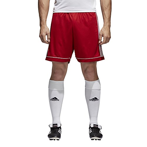 adidas Herren Squadra 17 Trainingsshorts Squadra 17, Rot (Power Red / White), M (Herstellergröße: M)