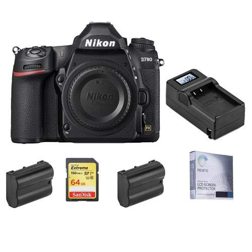 Nikon D780 FX-Format DSLR Camera Body Only