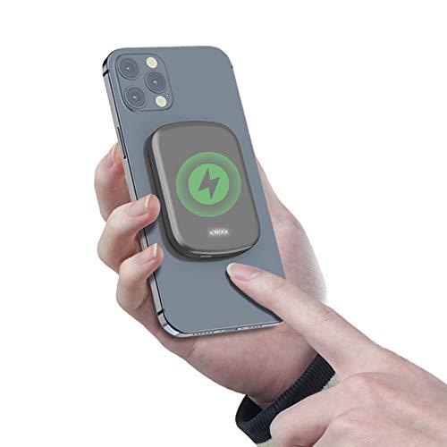 Cargador Portátil Inalámbrico Mag-safe, Cargador De Teléfono Celular PD Quick Bank Magnético De 20 W, Fuente De Alimentación De Respaldo USB De 5000mAh / 10000mAh, Compatible Con IPhone 12/12 Mini