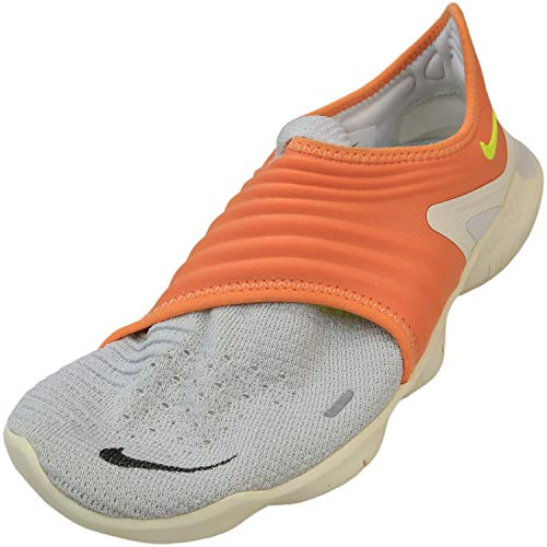 Nike Free RN Flyknit 3.0 Platinum Tint/Medium Tangerine/Volt