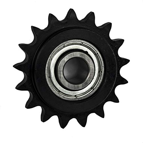 Jeremywell 40BB17H-1/2''Bore 17 Tooth Idler Sprocket for 40 Roller Chain