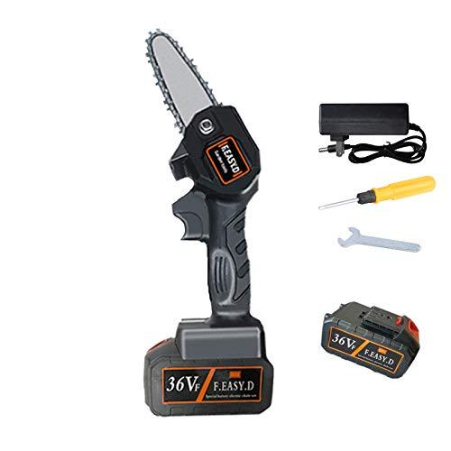 Gtest Mini Motosierra a batería, Motosierra eléctrica Ultraligera a batería de 4-Inch,...