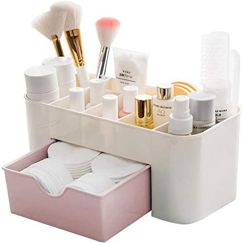 Skrivbord kosmetika förvaringsbox lådor,plast förvaringslåda smink,kan lagra hudvård kosmetika, smycken, kontorssationeri, fjärrkontroll och så vidare