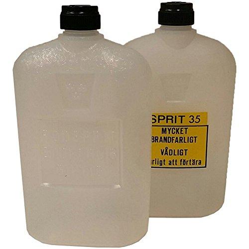 2er Spiritusflaschen leer 0,3 l NEU schwed. Armee Kocher Trangia