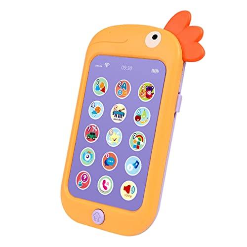 yestter-123 Todo teléfono bebé teléfono Total pequeño pequeño teléfono teléfico emparios educaje Juguetes witn lightes y música para niños y pandaderos