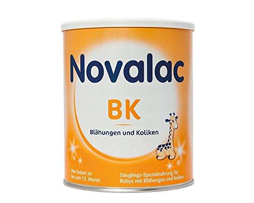 Novalac BK Spezialnahrung bei Blähungen und Koliken, von Geburt an, 2er Pack (2x800g)