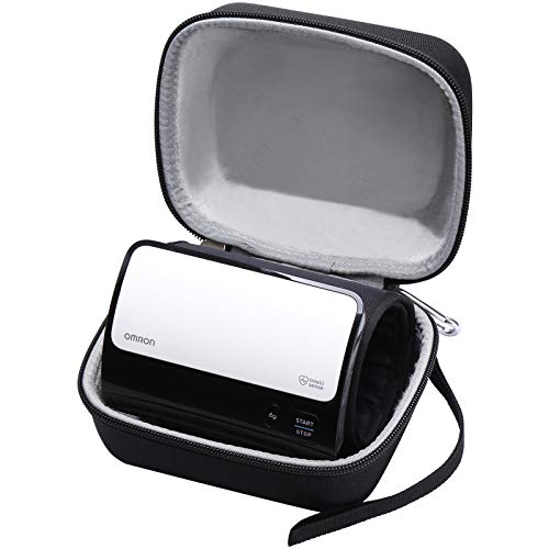 Aproca Hard Travel Case Compatible with Omron Evolv Bluetooth Wireless Upper Arm Blood Pressure Monitor (Black)