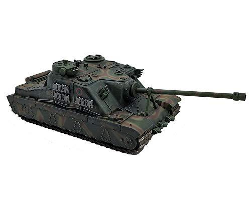 X-Toy 1:72 Military Tank Modell, WWII Britische Schildkröte A39 Heavy Tank Fertigmodell, Collectibles (3.9Inch × 2.2Inch × 1.6Inch)