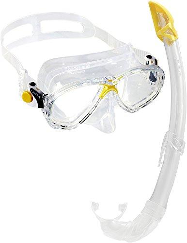 Cressi , Gafas y Tubo de Snorkel Unisex Adulto