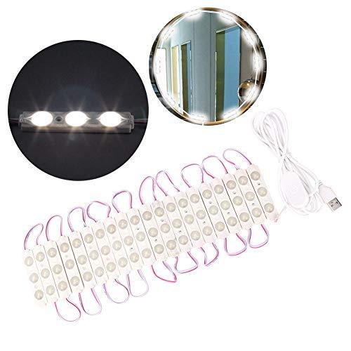 Kit de luces de espejo de vanidad LED, tira de accesorio de