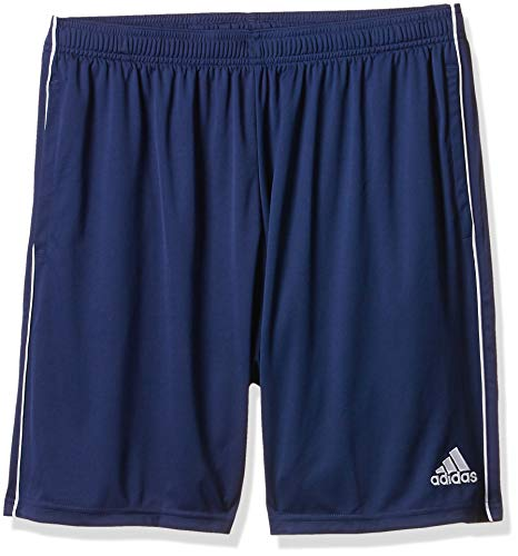 adidas CORE18 TR SHO Sport Shorts, Hombre, Dark Blue/White, 2XL