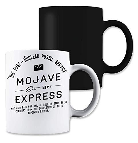 Shut Up Mojave Express Postal Service Magische thee-koffiemok