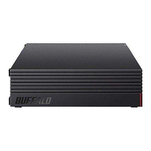 BUFFALO 外付けハードディスク 4TB テレビ録画/PC/PS4/4K対応 静音&コンパクト 日本製 故障予測 みまもり合...