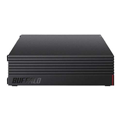 Buffalo HD-AD4U3 External Hard Disk 4TB TV Recording/PC/PS4/4K Compatible, Buffalo Made Nasne™ Compatible, Quiet & Compact, Made in Japan