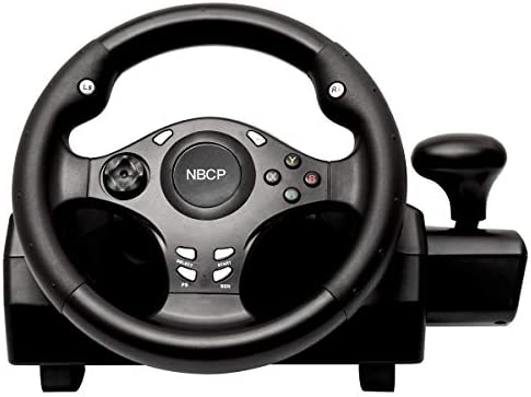 Game racing wheel 270 degree driving force steering wheel for racing games XBOX ONE XBOX 360 product image