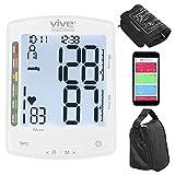 Vive Precision Smart Blood Pressure Cuff Monitor - Automatic Upper Arm Digital Machine - Home Use...