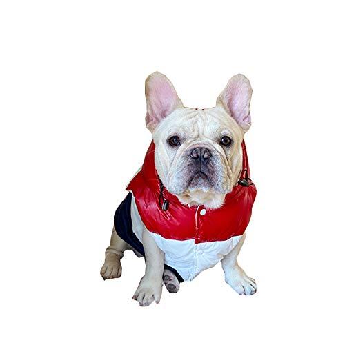 zzjj Abrigo de Perro,Ropa de Perro,Chaqueta cálida Chaqueta para Perros Abrigo Acolchado cálido Abrigo Invierno para Mascotas Ropa para Perros para Perros pequeños medianos y Grandes Mascotas Tallas