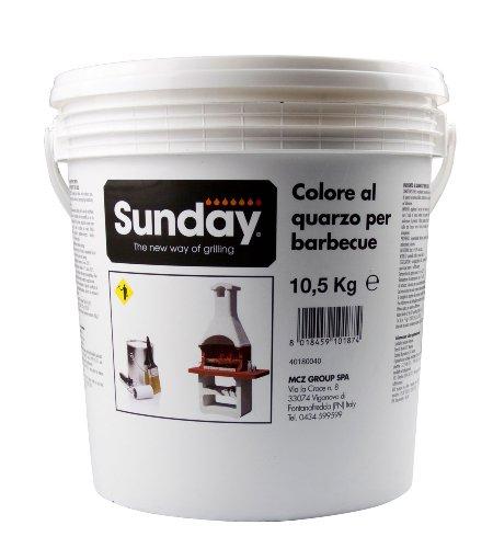 Unbekannt Sunday Putzfarbe Weiß, 10,5 kg (1 kg = 3,33 €)