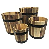 Avera Products Barrel Planters