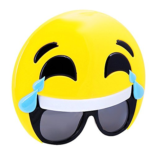 Tränen-Lachende Emoticon Brille