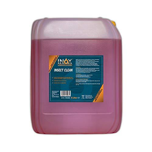 INOX® Insektenreiniger Insektenentferner Konzentrat, 5L - Reiniger für die Fahrzeugpflege