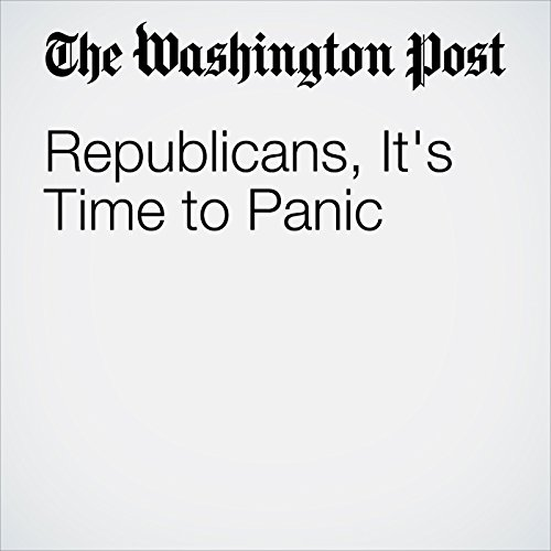 Republicans, It's Time to Panic copertina