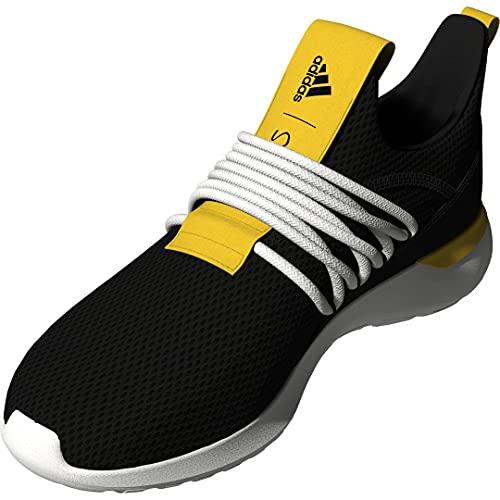 adidas Men's LITE Racer Adapt 3.0 Cross Trainer, Black/Black/White, Numeric_13