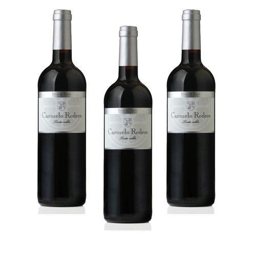 Carmelo Rodero Roble - Vino Tinto - 3 Botellas