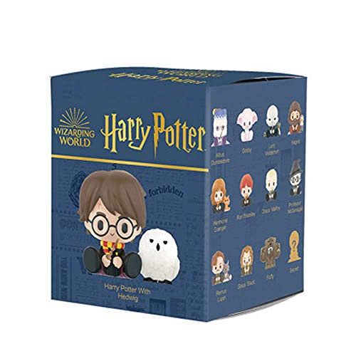 DGSPGD Bubble Mart Harry Potter Wizarding World Colección de la Serie de Animales Caja ciega Colección de Juguetes de Arte pequeño Colección de Regalo de muñeca Linda de Mini Juguete