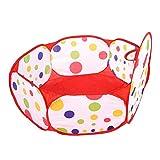 Vbest life Carpa de Juguete portátil para niños de Dibujos Animados, Piscina de Bolas para bebés, Piscina de Bolas oceánicas, casa de Juegos para niños, Tiro Plegable(120CMShooting Frame)