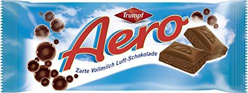 Trumpf Aero Vollmilch zarte Vollmilch Luft-Schokolade, 100 g