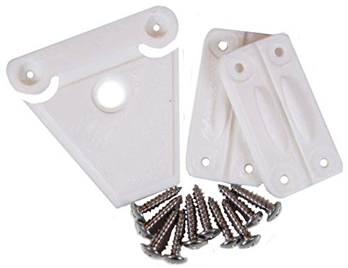 NeverBreak Igloo Cooler Replacement Hinge & Latch Set | High Strength Igloo Replacement Parts | Set of 2 Cooler Hinges and 1 Cooler Latch