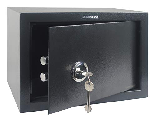 Arregui T25K Caja fuerte de sobreponer sólo llave.350x250x250...