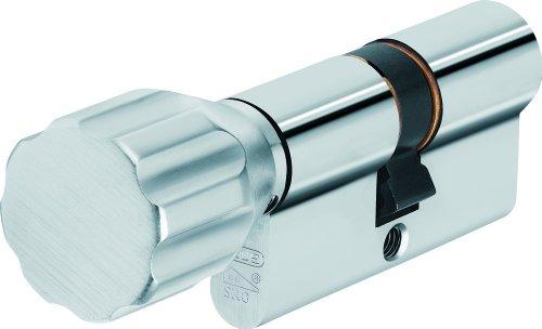 ABUS Profil-Zylinder KXP2SN 30/30 mit Knauf 19699
