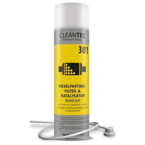CleanTEC 301 Profi Dieselpartikelfilter und Kat intensiv Reiniger Spray mit Sonde 400ml