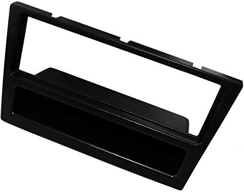 AERZETIX: Adaptateur Façade Cadre Réducteur - 1DIN - Moulage Cache en Plastique pour remplacer Changer Monter autoradio d'origine par Un Radio Standard de Voiture Auto - Couleur Noir - C2351