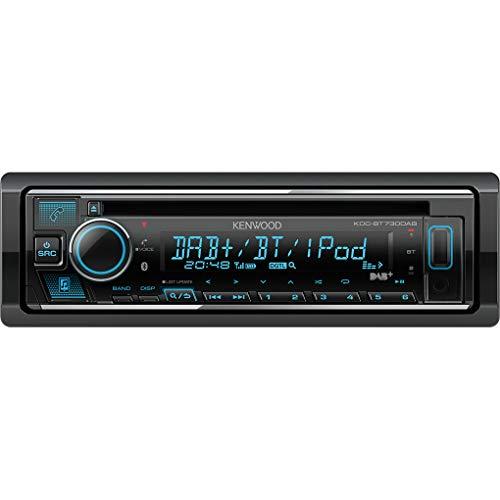 Kenwood KDC-BT730DAB CD-Receiver mit integriertem Bluetooth und DAB+ Radio