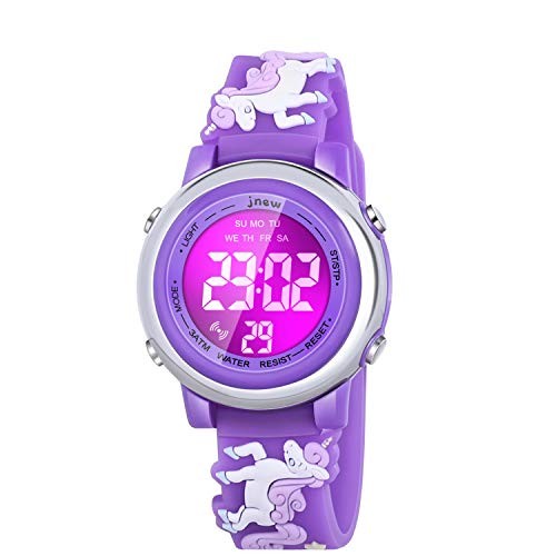 Viposoon Watch for Kids, Toddler Watches Toys for 3 4 5 6 7 8 9 10 Year Old Girls Best Gifts for 3-10 Year Old Girls Birthday Presents Gifts for 3-11 Year Old Girl Xmas Gifts for Kids