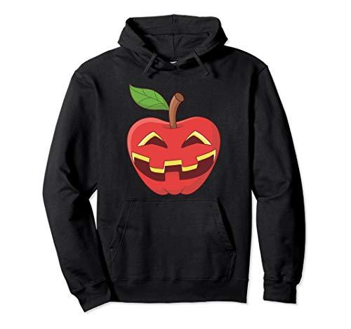 Apfel Halloween Kostüm Jackolantern Apfel-Laterne Geschenk Pullover Hoodie