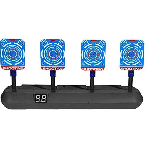 OMMO LEBEINDR Elétrica Blancos De Tiro Digital Electrónico De Puntuación para Pistolas Automáticas Restablecer Regalo De Los Juguetes De Plástico para Niños Niños