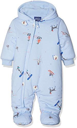 Joules Snug Combinaison de Neige, Bleu (Sky Blue Ski Pup), Nouveau-né Bébé garçon