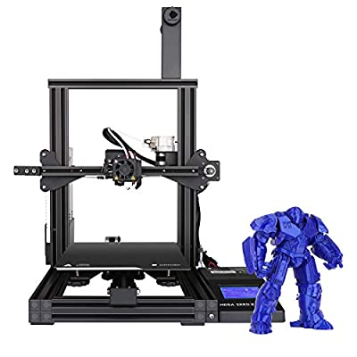 ANYCUBIC 3D Printer Mega Zero V2 Fast Assemble & Heating Auxiliary Leveling FDM Printer with Magnetic Printing Bed and Resume Printing 220x220x250mm Support PLA, TPU, WOOD, PETG