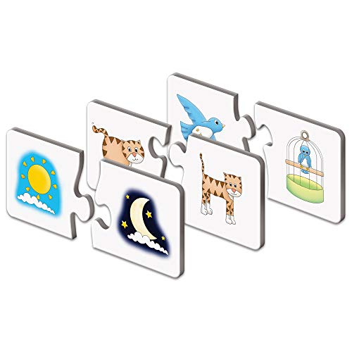 The Learning Journey: Match It! - Opposites - Matching Toddler Puzzles ages 2-4, Educational Toys and Learning Games, Preschool Learning Puzzle, Award Winning Educational Toys
