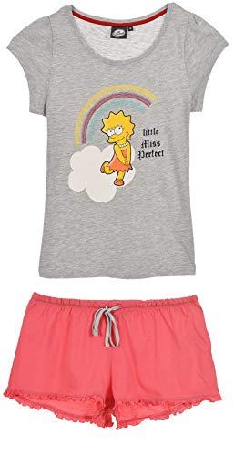 The Simpsons Mujer Pijama Corto