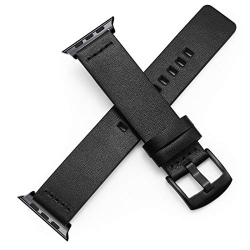 Für Apple Watch 4 3 Echtes Lederband Armband 38 40 42 44mm Sportuhrband Armband Quick Release Loop Bracelet