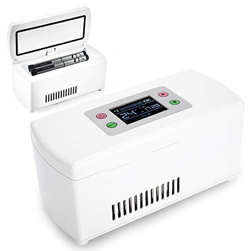 Semme Cassa refrigerante Portatile Cassa frigo isolata Mini Box Reefer Temperatura costante 2-8 ℃ Archiviazione Professionale per Viaggi, all aperto, Campeggio, Lavoro