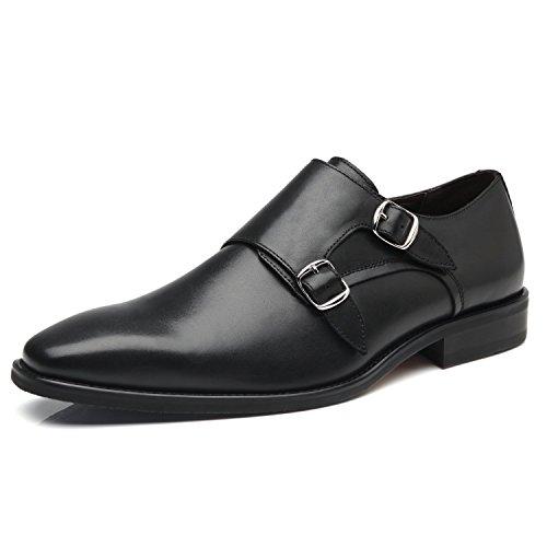 La Milano Mens Double Monk Strap Slip On Loafer Leather Oxford...