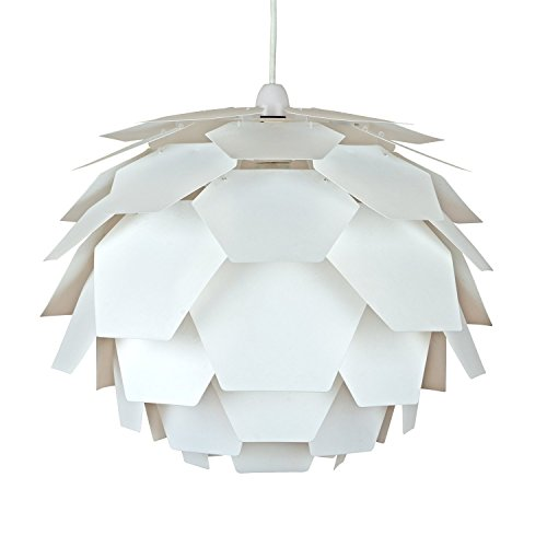 MiniSun – Paralume moderno e nello stile designer e nella forma di un carciofo – per lampada a sospensione