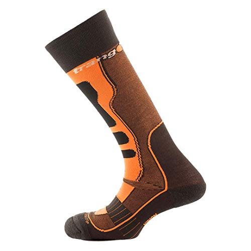 Trango Kidion Chaussettes Mixte Adulte, Naranja/Antracita, FR : M (Taille Fabricant : M)