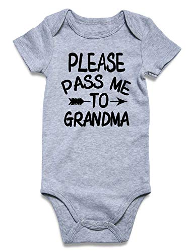 PLEASE PASS ME TO GRANDMA Onesies
